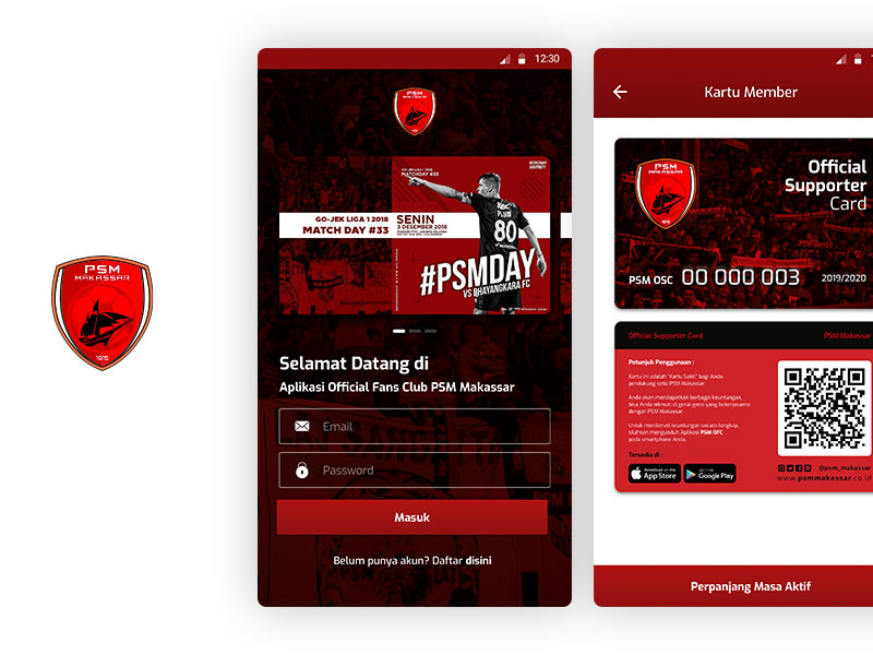 PSM Makassar - Official Fan Club Mobile App